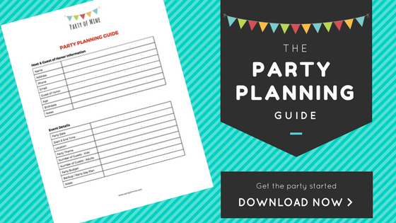 Party of Mine | Party Planning Guide